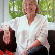 Eve Mills by Portrait Artist Nicholas J Smith