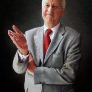 Geoff French by Portrait Artist Nicholas J Smith