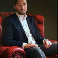 James Downie by Portrait Artist Nicholas J Smith