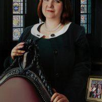 Linda Lee by Portrait Artist Nicholas J Smith