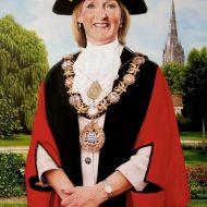 Penny Brown by Portrait artist Nicholas J Smith