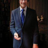 Prof. David Balmforth by Portrait Artist Nicholas J Smith