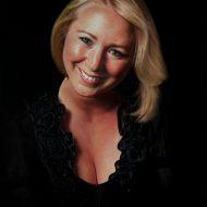 Rachel Vincent by Portrait Artist Nicholas J Smith