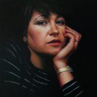 Ann Hamill by Portrait Artist Nicholas J Smith