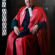 The Very Rev'd Gordon McPhate by Portrait Artist Nicholas J Smith